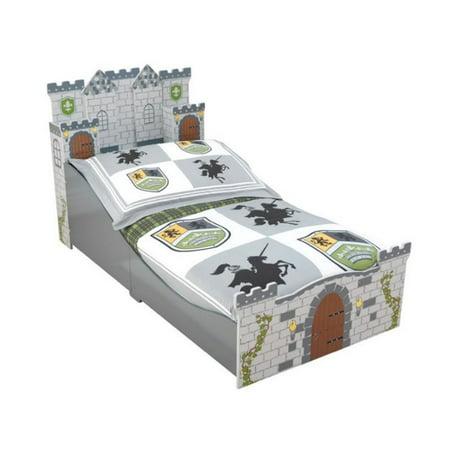 Kidkraft Medieval Castle Toddler Bed Walmart Com