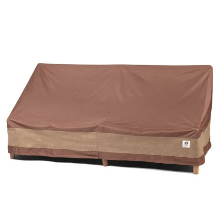Duck Covers Ultimate Patio Loveseat Cover - Water Resistant Outdoor Furniture Cover, 54