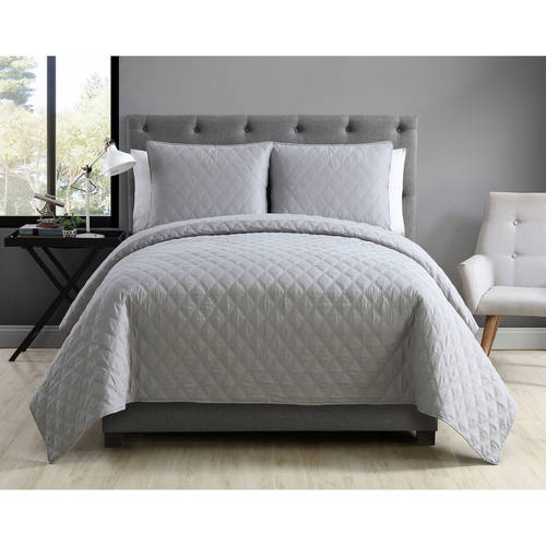 VCNY Home Buckingham Diamond Embroidered Bedding Coverlet Set, Shams Included