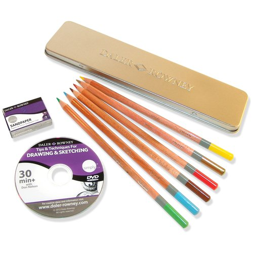 Simply Drawing Tin Set, 9pk