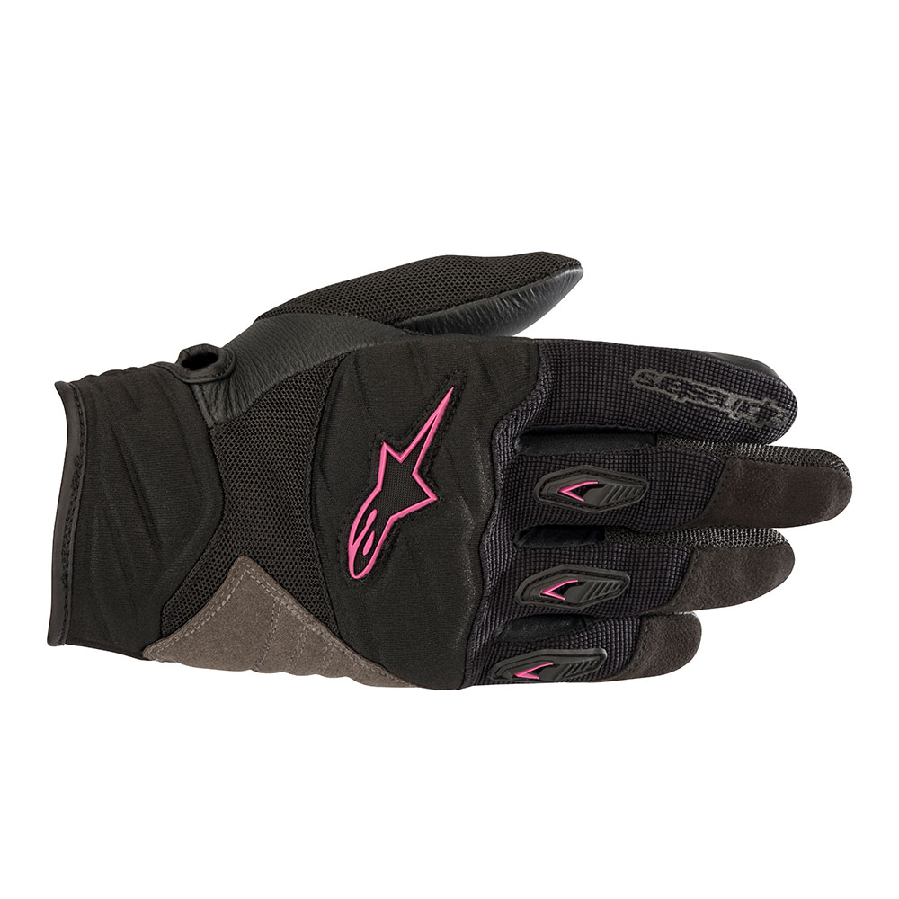 Alpinestars Stella Shore Womens Gloves Black/Pink