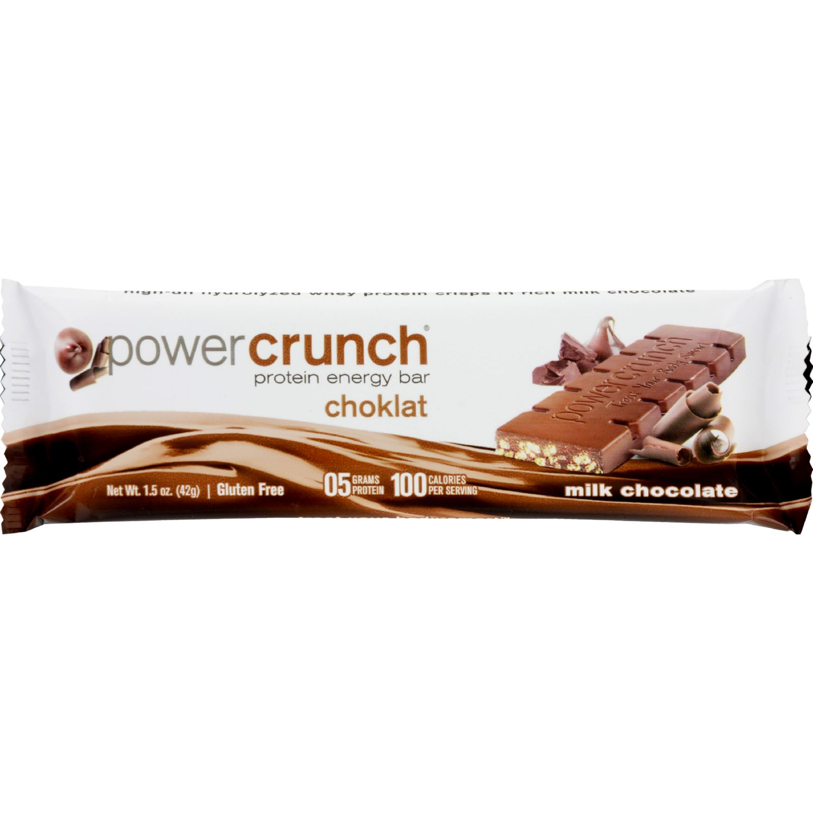 BNRG Choklat Crunch  Proto Whey Protein Crisps in Belgian Chocolate, 1.5 oz