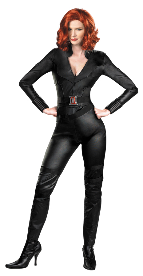 black widow avengers adult halloween costume walmartcom