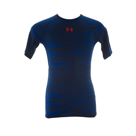 Under armour men 39 s heatgear printed compression short for Under armour shirts at walmart