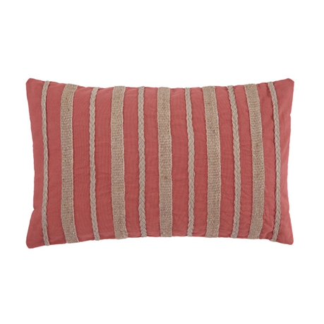 Throw Pillows Set Of 4 : Ashley Zackery Throw Pillow in Coral (Set of 4)