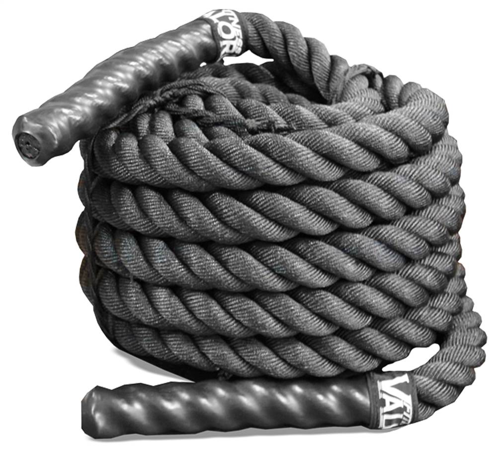Black Conditioning Rope without Sheath