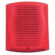 SYSTEM SENSOR SPR Wall Speaker,Red