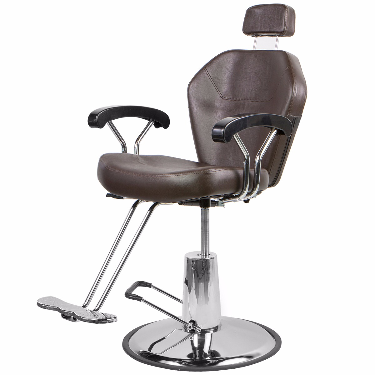 Barton Hydraulic Reclining Multi-Purpose Salon Barber Cha...