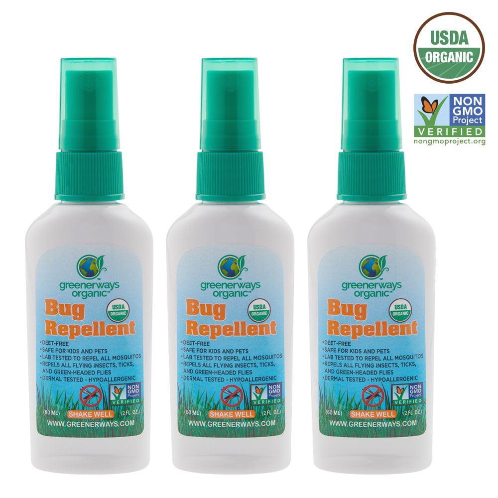 Mosqutio Repellent 100/% Natural Travel Size