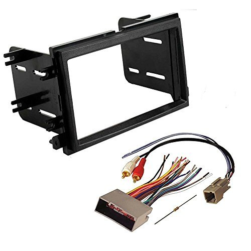 Absolute USA ABS95-5812-2 Fits Ford F250-F550 2005 2006 2007 Double DIN Stereo Harness Radio Dash Kit