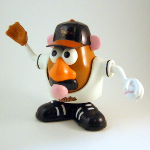 LA Dodgers Mr. Potato Head Los Angeles Dodgers MRPBBLAD