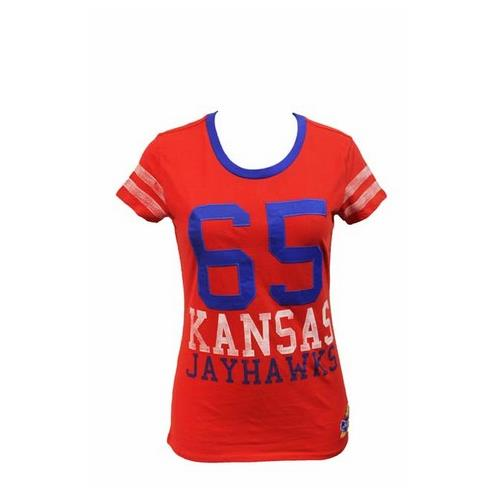 Kansas Jayhawks KU Shirt Kappa Gamma Ladies Tee