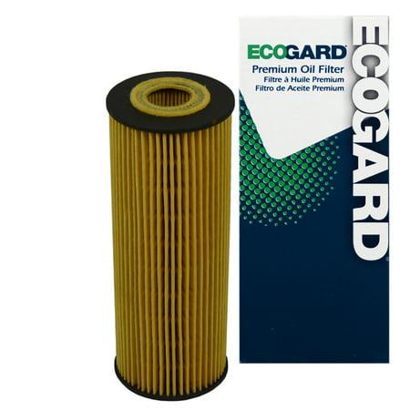 ECOGARD X4757 Cartridge Engine Oil Filter for Conventional Oil - Premium Replacement Fits Mercedes-Benz C230, E320, SLK230, C280, S320, C220, SL320, 300E, 300SE, 300CE, 300SL, C36 AMG