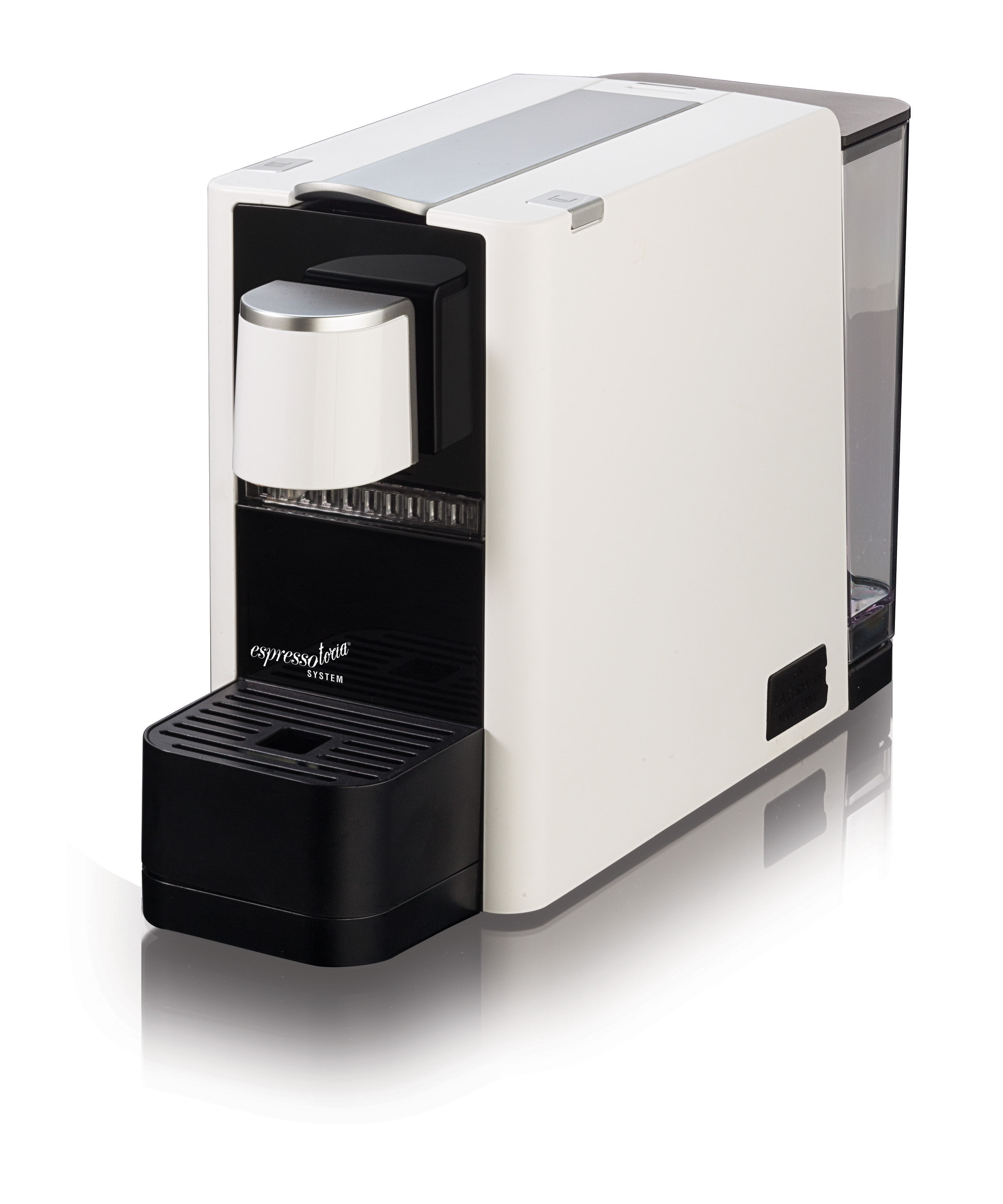Espressotoria Caprista Espresso Coffee Pod Machine White Walmartcom