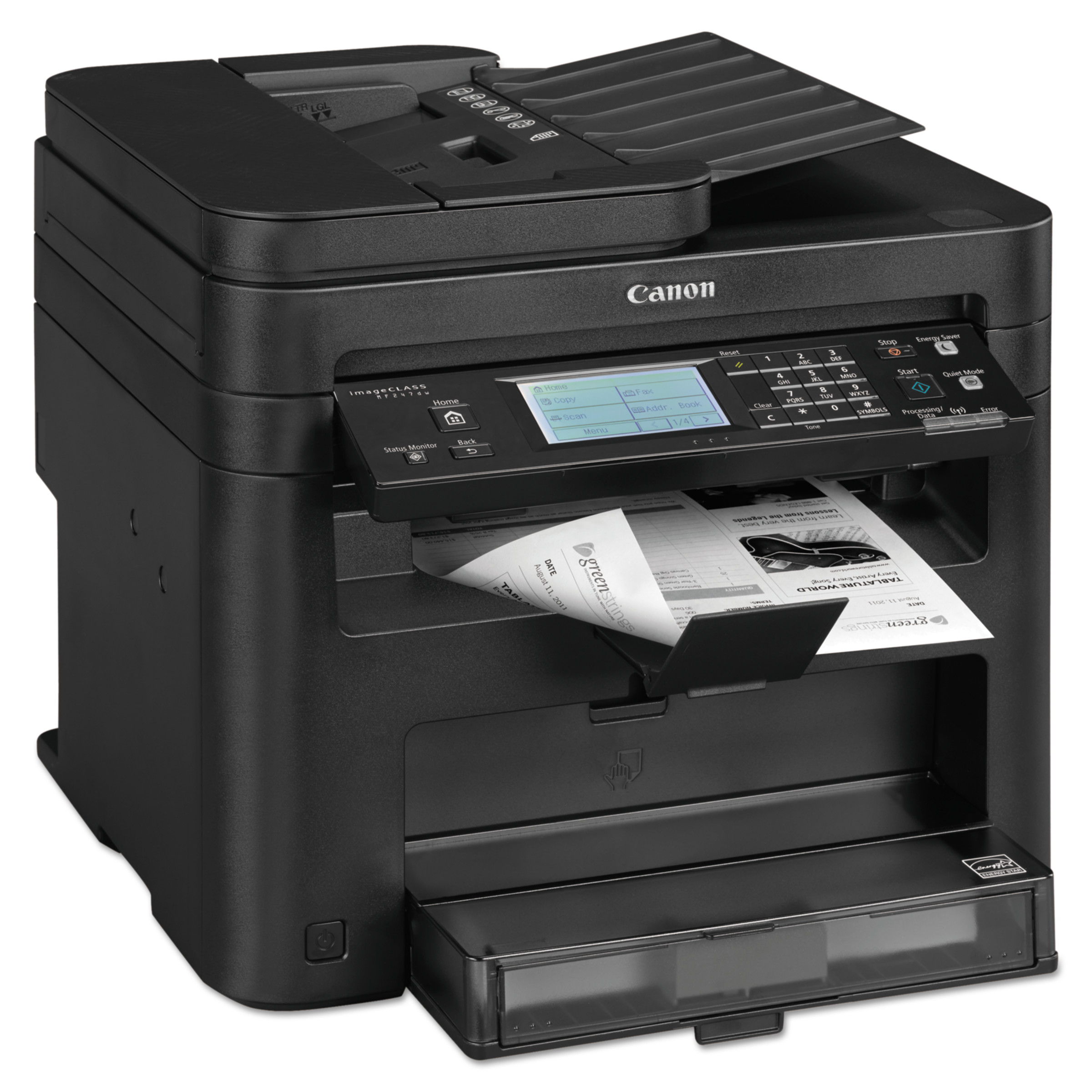 Canon imageCLASS MF247dw Wireless Multifunction Duplex Laser, Copy; Fax; Print; Scan