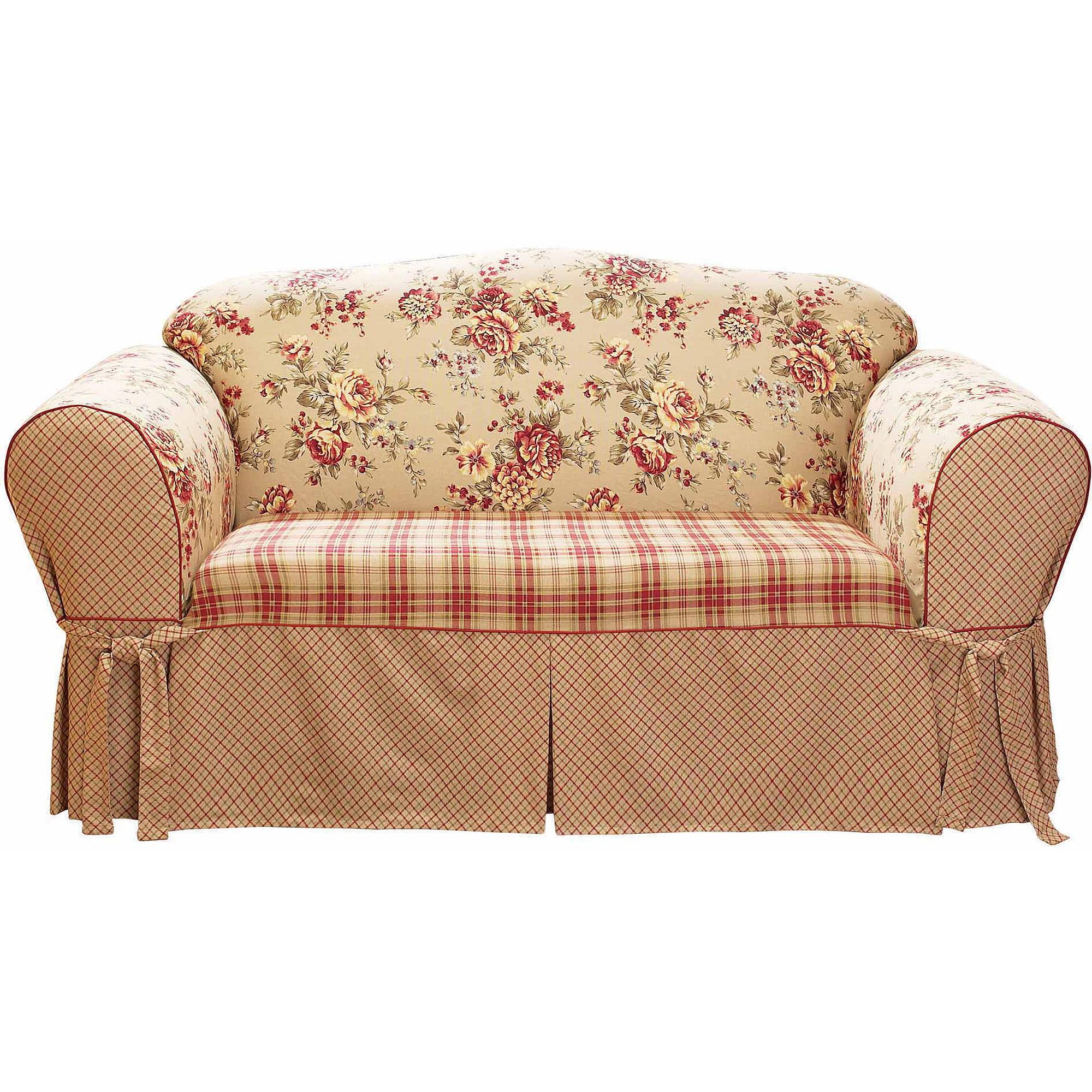 Sure Fit Lexington Sofa Slipcover, Multi-Color