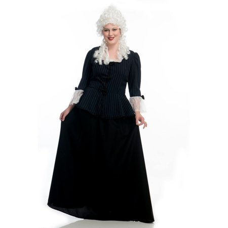 Halloween Martha Washington Colonial Plus Adult Costume](Halloween Washington Square Park)