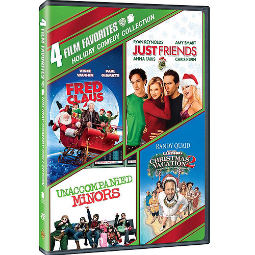 4 Film Favorites: Holiday Comedy Collection Fred Claus   Just Friends   National Lampoon's Christmas Vacation... by WARNER HOME ENTERTAINMENT