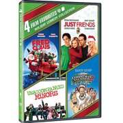 4 Film Favorites: Holiday Comedy Collection Fred Claus   Just Friends   National Lampoon's Christmas Vacation 2: Cousin... by TIME WARNER