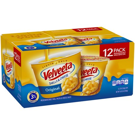 Velveeta Original Shells and Cheese Cups, 2.39 oz (Pack of