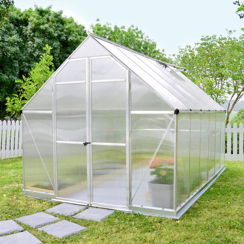 Palram Essence 7.5 Ft. W x 8 Ft. D Polycarbonate Greenhouse