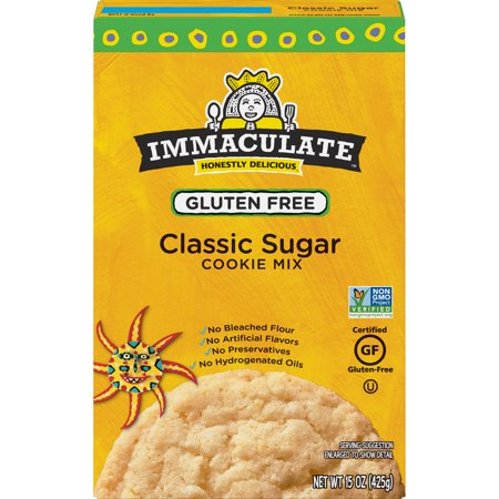 Immaculate Baking Gluten Free Non-GMO Sugar Cookie Mix, 15 oz