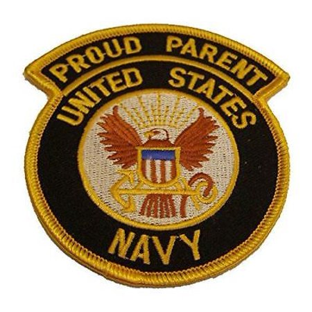 PROUD PARENT USN NAVY PATCH MOM DAD STEP SAILOR SERVICE