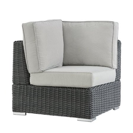 Darby Home Co Rathdowney Wicker Outdoor Sectional Corner Chair With