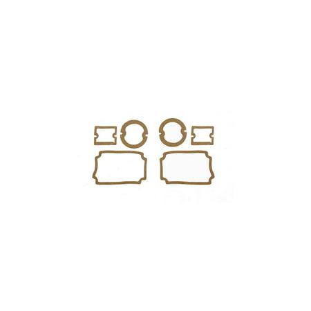 - Eckler's Premier  Products 57-130730 Chevy Parking Light, Taillight & Back-Up Light Lens Gasket Set,