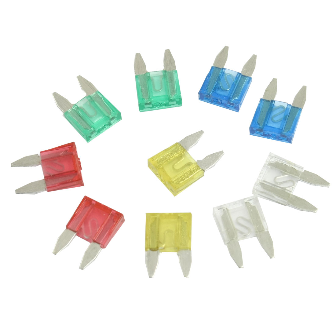 Unique Bargains 20 Pcs Plastic Push Pin Fastener Rivets Fender Clips for Car