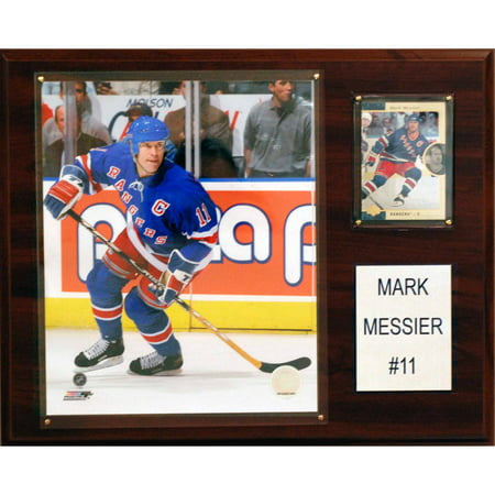 - C&I Collectables NHL 12x15 Mark Messier New York Rangers Player Plaque