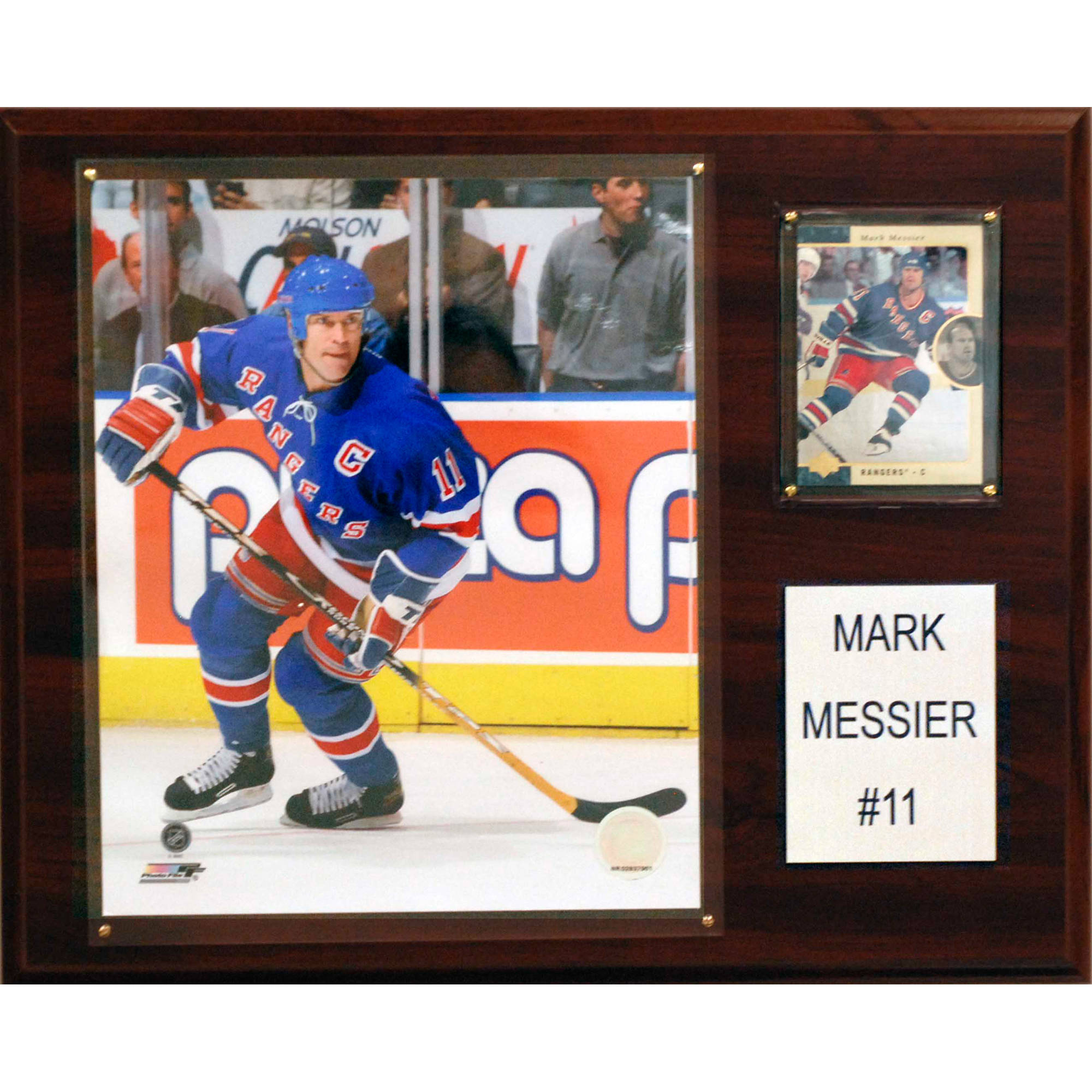 C&I Collectables NHL 12x15 Mark Messier New York Rangers Player Plaque