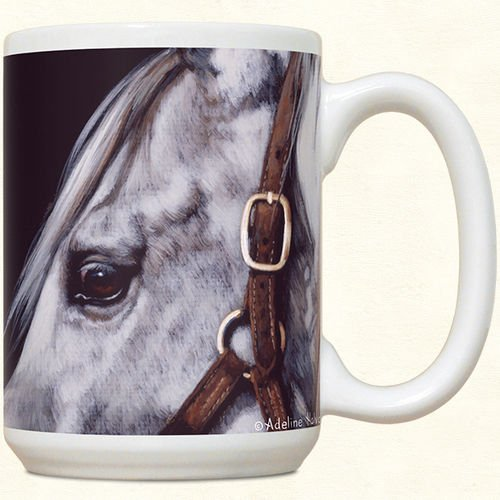 Beautiful Grey Horse Mug