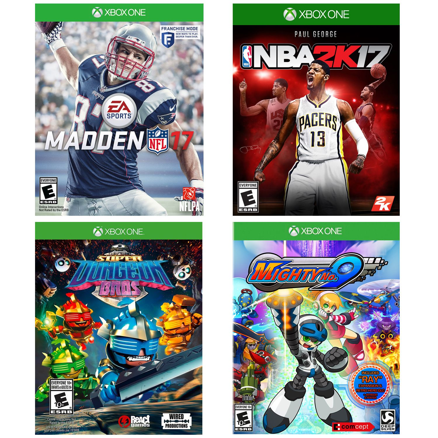 Xbox One Family Value Pack - 4 Games (Pre-Owned) (Xbox One)