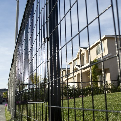 YardGard Select 4 ft. x 24 ft. Steel Fence Panel by