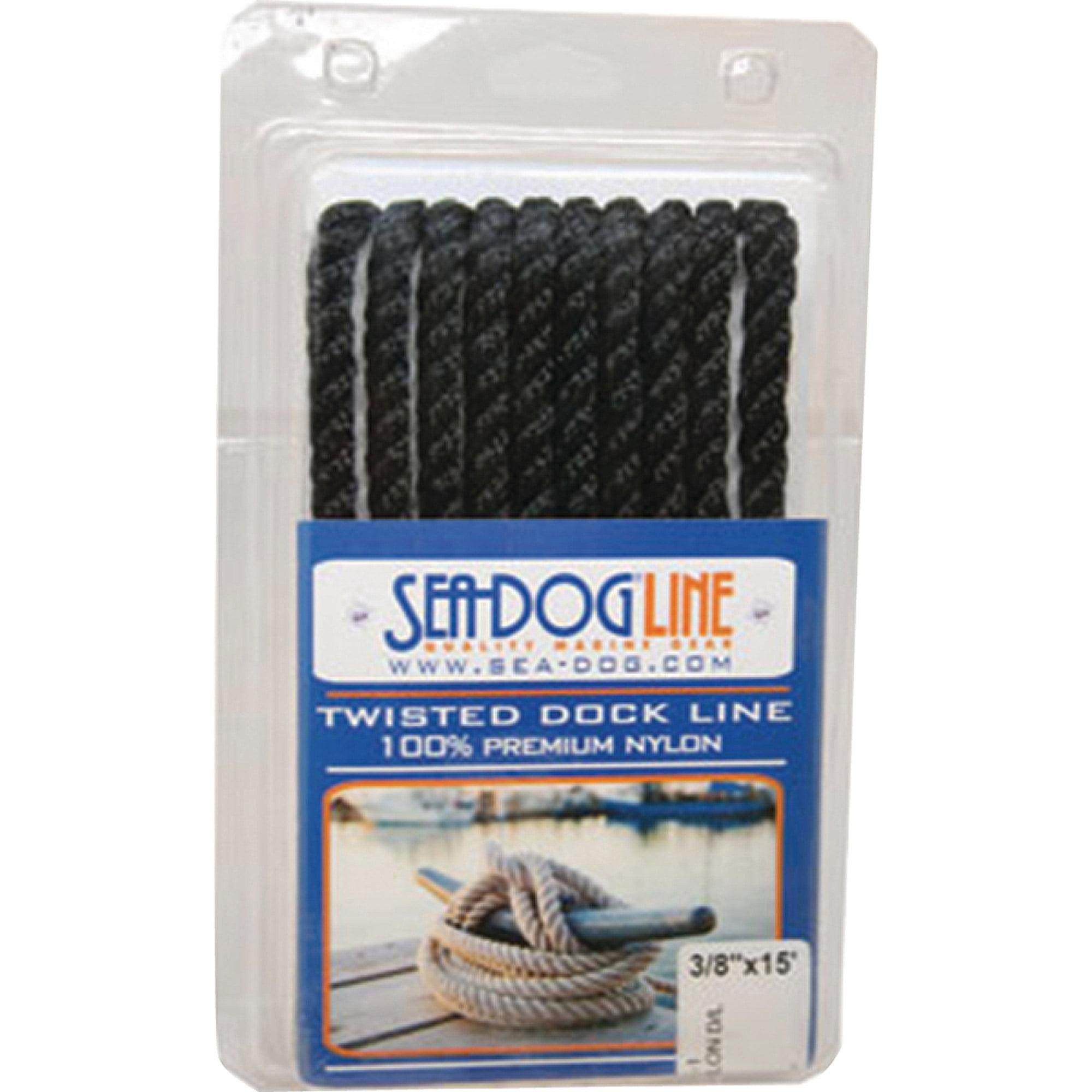 Sea Dog Premium Twisted 3-Strand Nylon Dock Line by Sea-Dog Corporation