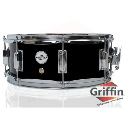 13 Inch Marching Snare Drum - Griffin Snare Drum Poplar Wood Shell 14