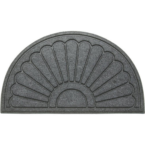 "Mainstays 18"" x 30"" Recycled Crumb Rubber Sunburst Mat"