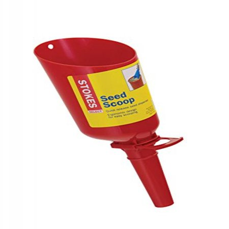 Stokes Select 38095-6CT Quick-Release Bird Seed Scoop, 1.33 lb Capacity, Plastic, Red, For Tubular Bird Feeder ()