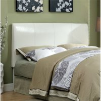 Furniture of America Mevea Full Queen Panel Headboard in White