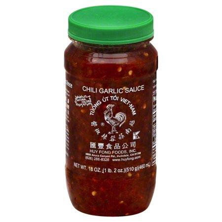 Sriracha Hot Chili Paste - Huy Fong Foods Chili Garlic Sauce , 18 oz