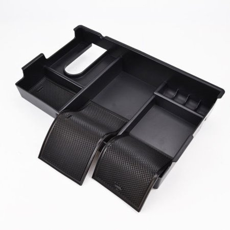 Car Armrest Storage Box Center Console Organizer Tray For Toyota Tundra 2014-18 - image 7 of 9