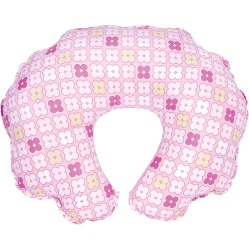 Leachco - Cuddle-U Nursing Pillow Replacement Cover, Pink 4 Squares