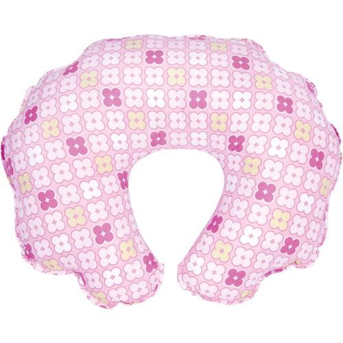 Leachco - Cuddle-U Nursing Pillow Replacement Cover, Pink 4 Squares