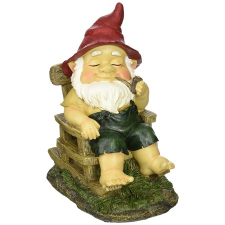 Summerfield Terrace ROCKING CHAIR GNOME, Summerfield Terrace Rocking Chair Gnome By Tom Co,USA