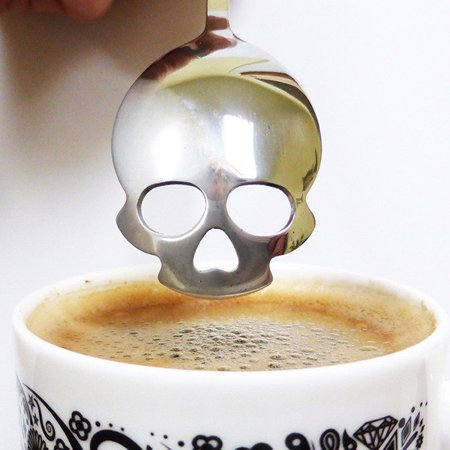 - Sugar Skull Spoon
