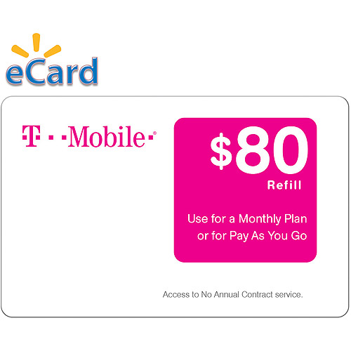 T-Mobile $80 4G LTE (Email Delivery)