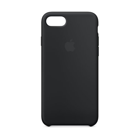Apple Silicone Case for iPhone 8 & iPhone 7 - Black