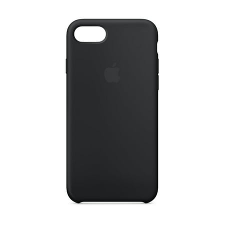 finest selection 4e189 11605 Apple Silicone Case for iPhone 8 & iPhone 7 - Black