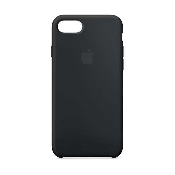 Apple Silicone Case for iPhone SE(2020), iPhone 8 & iPhone 7 - Black
